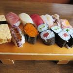 甲寿司 - ランチ寿司定食