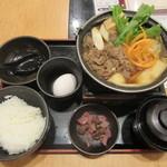 どん亭 - 「牛好き御膳」(¥750)