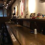 cafe&dining marina  - 店内風景(カウンター席)。