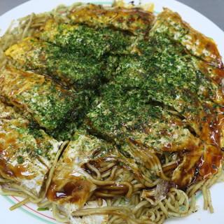 お好み焼き 大樹 - 料理写真:肉玉そばW