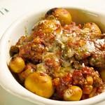 イタリア食堂 MARIA - 鳥肝の辛口トマト煮込みズッパフォルテ