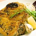 イタリア食堂 MARIA - 名物若鶏の黒こしょう焼き