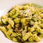 イタリア食堂 MARIA - フジッリカツオの自家製ツナとズッキーニのオイルソース