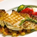 イタリア食堂 MARIA - コラトゥーラでマリネした豚ロース肉のグリリア