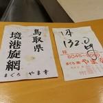 鮨 土方 - 「さいとう」と同じ仕入れ先からのマグロ