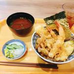 江戸前天丼 濱乃屋 - 天丼