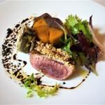 リヴィエール - 料理写真:フランス鴨のロースト