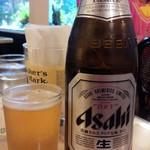 まいど コルカタレストラン - アサヒ瓶ビール