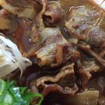 中華そば 春陽軒 - 肉がご飯に最高です♬