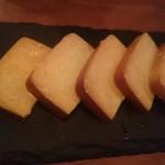 燻製キッチン - 燻製焼きチーズ