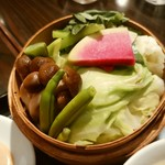 飯楽 - 野菜たっぷり蒸籠蒸し✴✴