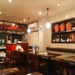 飯楽 - 落ち着いた雰囲気の店内