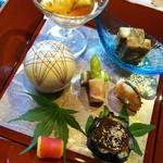 守田屋 - 料理写真:前菜