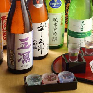 """石川全蔵の地酒を愉しむ""""日本酒の吞み比べ"""""""