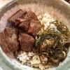 沖縄そば やんばる - 料理写真:ラフティ丼