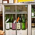 うどん蔵ふじたや - 日本酒のラインナップが素敵