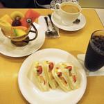 千疋屋総本店 フルーツパーラー - おやつタイム