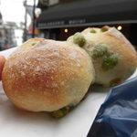 メチエ - 料理写真:枝豆とベーコンのパン