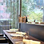 レストラン ラ・フロレゾン・ドゥ・タケウチ - 店内