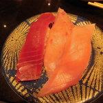回し寿司 活 - マグロ3種盛り