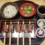 本町茶寮 - 料理写真:炙り田楽定食