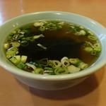 ヤマヨ - スープも薄味