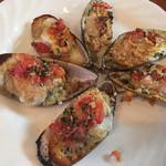 バフェット - ムール貝のオーブン焼き1,000円(外)