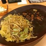 みぼうじんカレー - チキン野菜炒めカレー