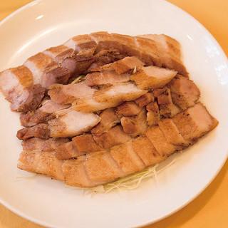 ☆丼に続き「ガチあげ!」も銀賞受賞☆【豚塩カルビの香味揚げ】