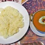 RAJU - 料理写真:チキンカレー