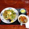 国泰 - 料理写真:あんかけ上海メン(800円)トッピングのゆで卵はサービス