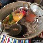 トップシークレットカフェ - 美味しいジュースです✨