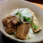 麺 みつヰ - 賄い丼(250円)