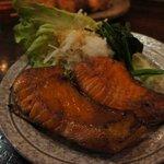 たこ梅 - 料理写真:ハラス焼き