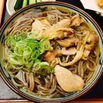 そば処吉亭 - 冷たい肉そば(700円)