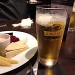 ブラジリカ グリル - ビールは一番搾りを注文