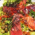 笑かど - 海鮮お刺身サラダ
