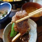 ろばた - ジンギスカン定食 1980円