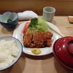 とんき - ヒレかつ定食