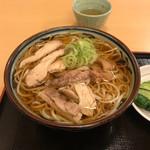 そば処吉亭 - 温かい肉うどん(700円)