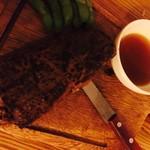 燻製お肉&ギリ盛りスパークリングワイン Ren-Chin! - 肉の塊もレンチン