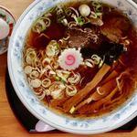 ヤマキ馬肉ラーメン - 馬肉醤油ラーメン 550円