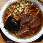 ヤマキ馬肉ラーメン - 冷しラーメン 650円