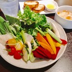 スープカレーと季節野菜ダイニング 彩 - ある日のお野菜ブュッフェ その2