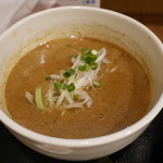 自家製麺つけそば 九六 - つけ汁@特製つけそば980円。
