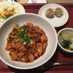 焼賣太樓 - 麻婆丼定食