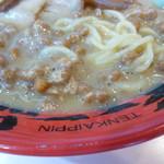 天下一品 - 麺とスープ+納豆