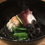 鮨 おくの - カスベと蛸の柔らか煮