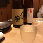 のど黒屋 - 日本酒で乾杯