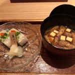 のど黒屋 - ふぐのお寿司とお汁